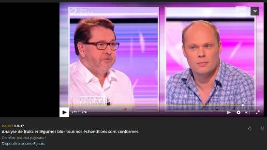 """Les fruits et légumes bio testés par les chroniqueurs de l'émission TV """"On n'est pas des Pigeons"""