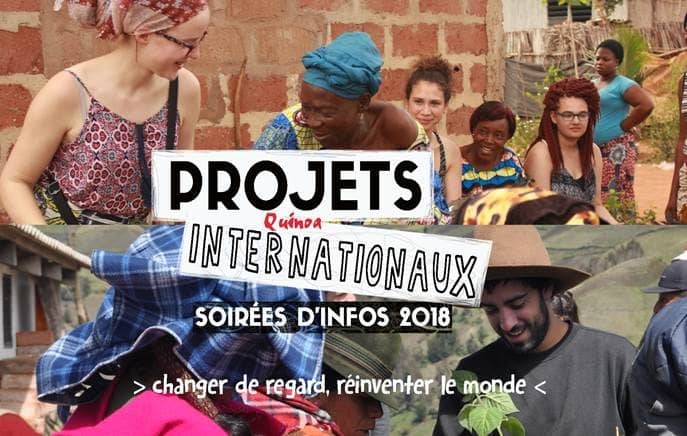 Projets internationaux Quinoa – soirée d'infos 2018
